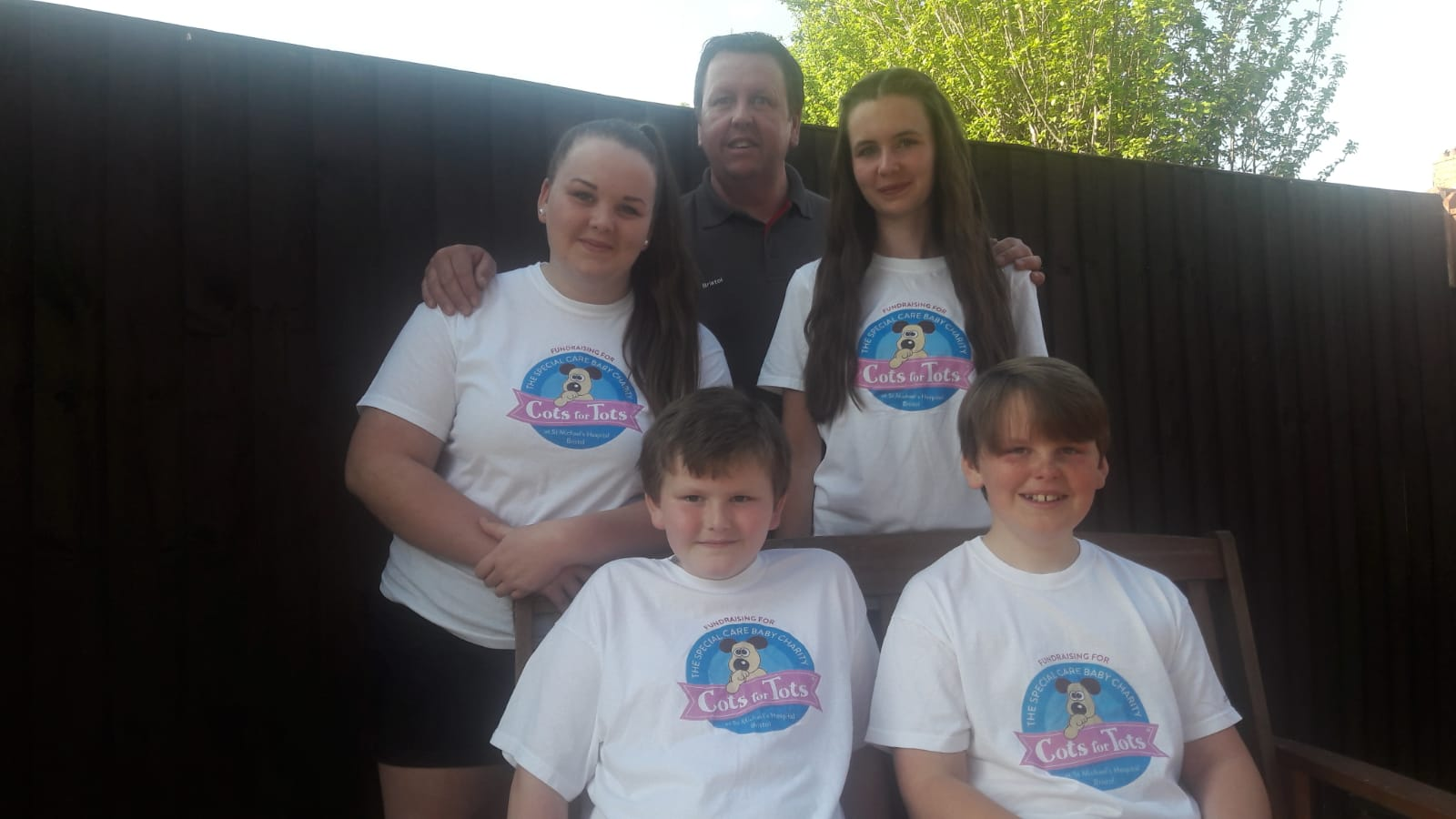 South Bristol family honours key workers while raising money for charitygeraghty family
