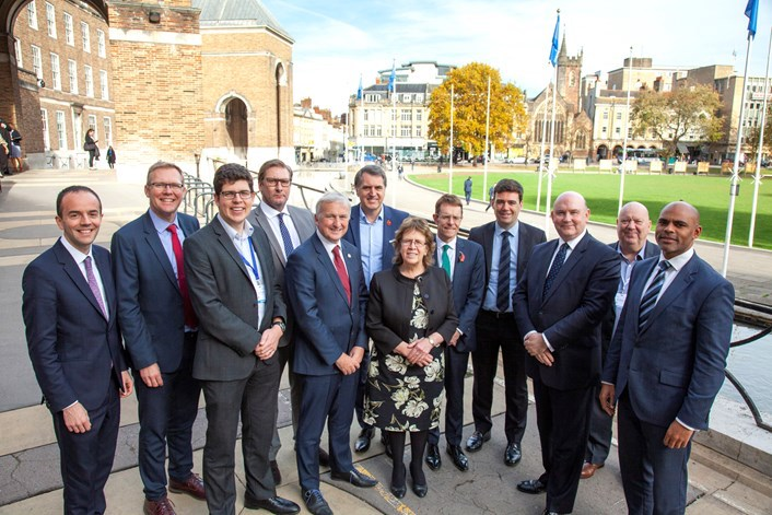 Metro mayors call for regional funds to spend after Brexit