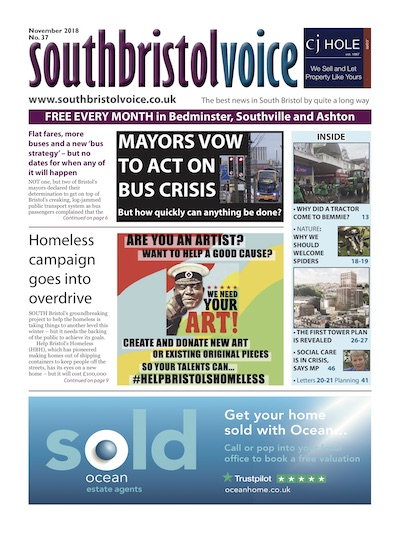 South Bristol Voice cover November 2018 Bedminster