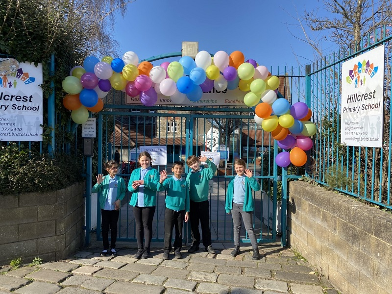 Primary says a huge 'welcome back' to pupils