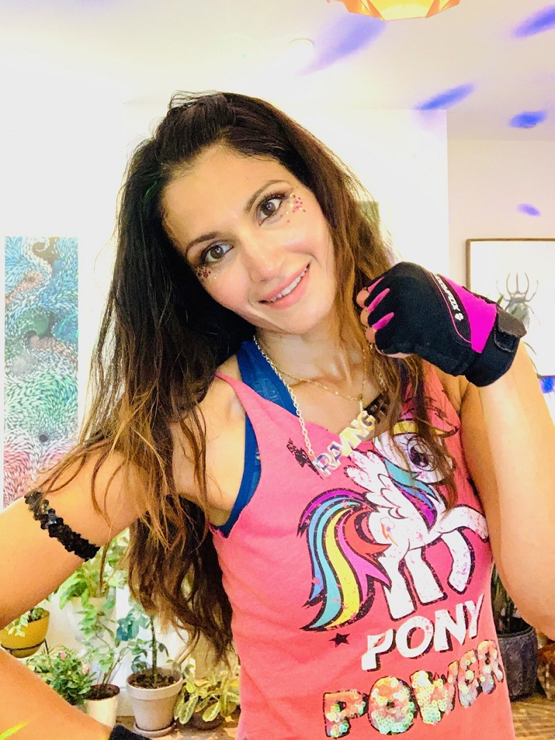 Farrah limbers up for 24-hour charity danceathon