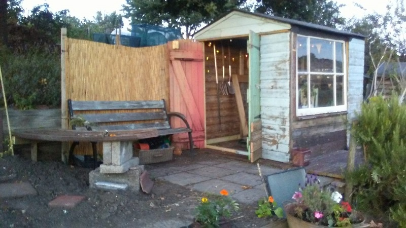 Hand crafted gift shed