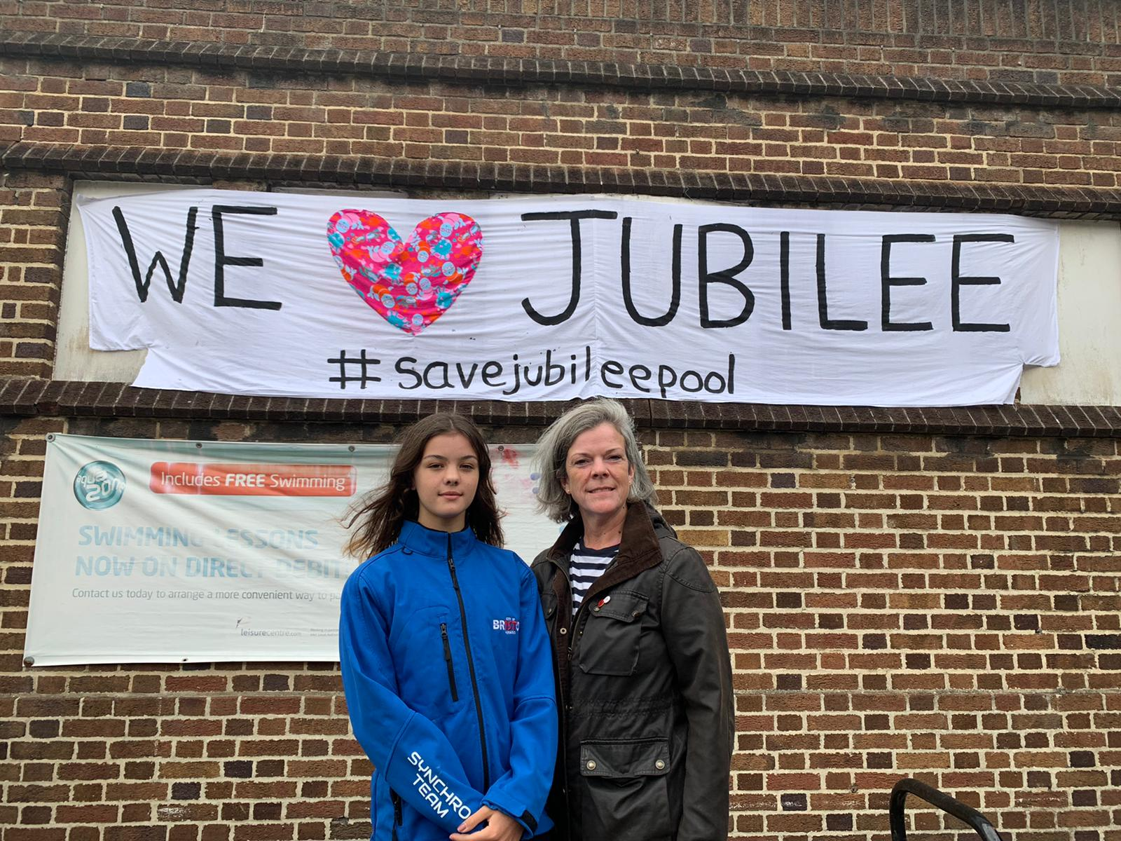 Voices of Jubilee swimmers