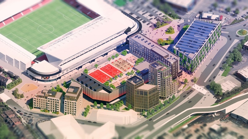 Sporting quarter plans finally submitted