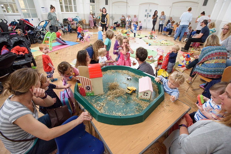 Excitement as popular toddler groups relaunch