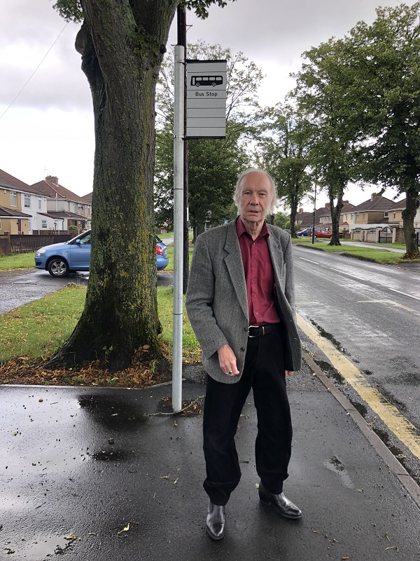 Resident calls for improvements to bus stop