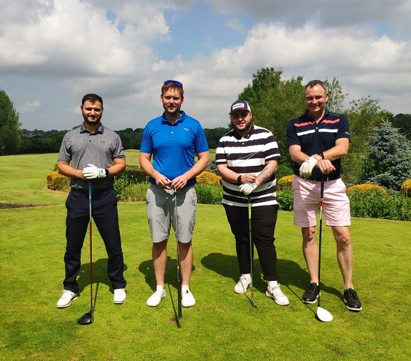 Ace! Golf day raises £8k for charity