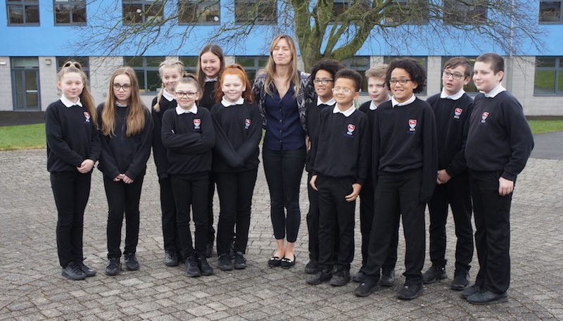 Youngest person to climb Everest inspires Bedminster Down pupils