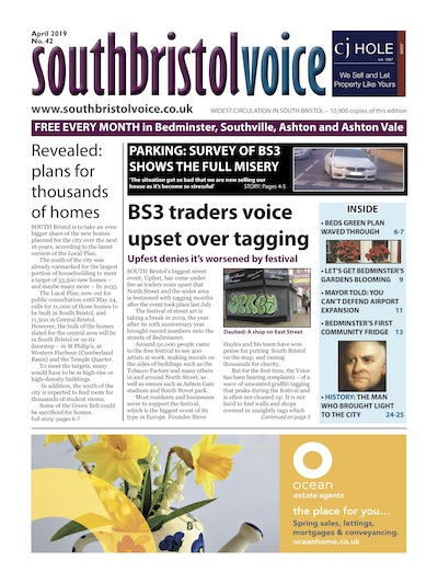 South Bristol Voice cover April 2019 Bedminster