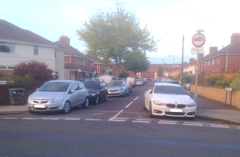 Misery of parking for BS3 residents exposed by survey