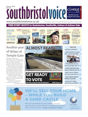 South Bristol Voice cover August 2018 Bedminster