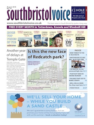 South Bristol Voice cover August 2018