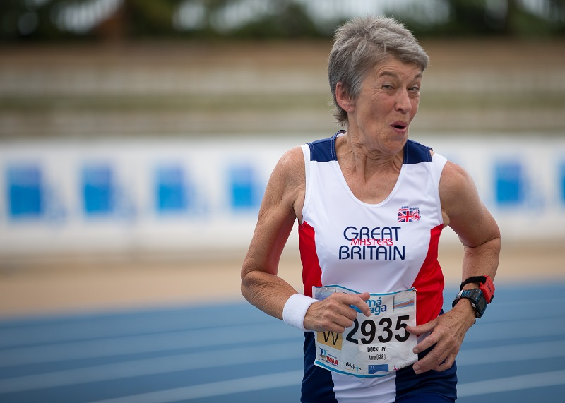 Athlete Anne is proof that age is no barrier