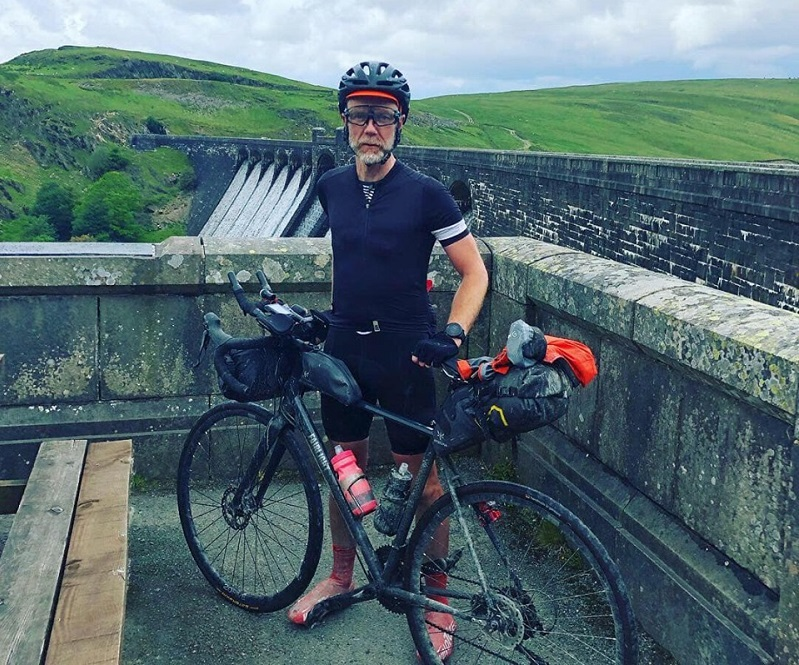 Sean's epic cycle to raise cash for youth mental health