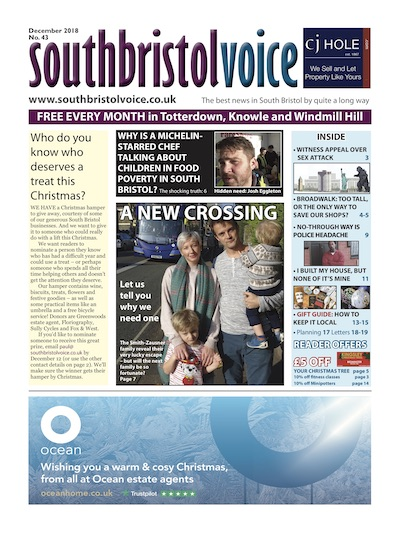 South Bristol Voice cover December 2018