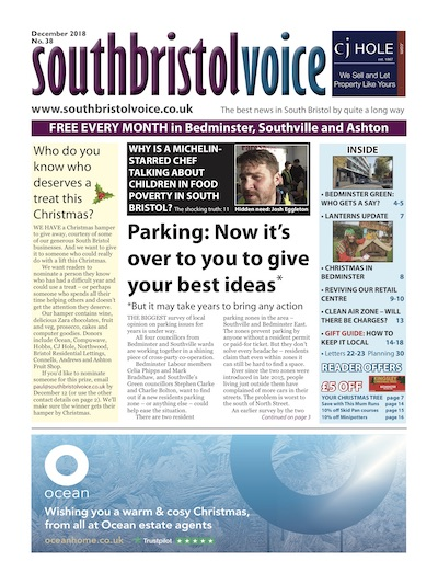 South Bristol Voice cover December 2018 Bedminster