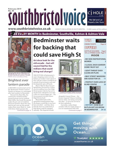 South Bristol Voice cover February 2019 Bedminster