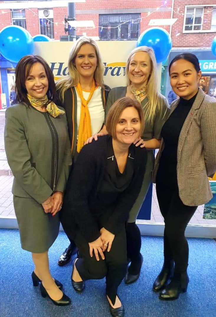 Sunnier outlook for travel agents as branch re-opens