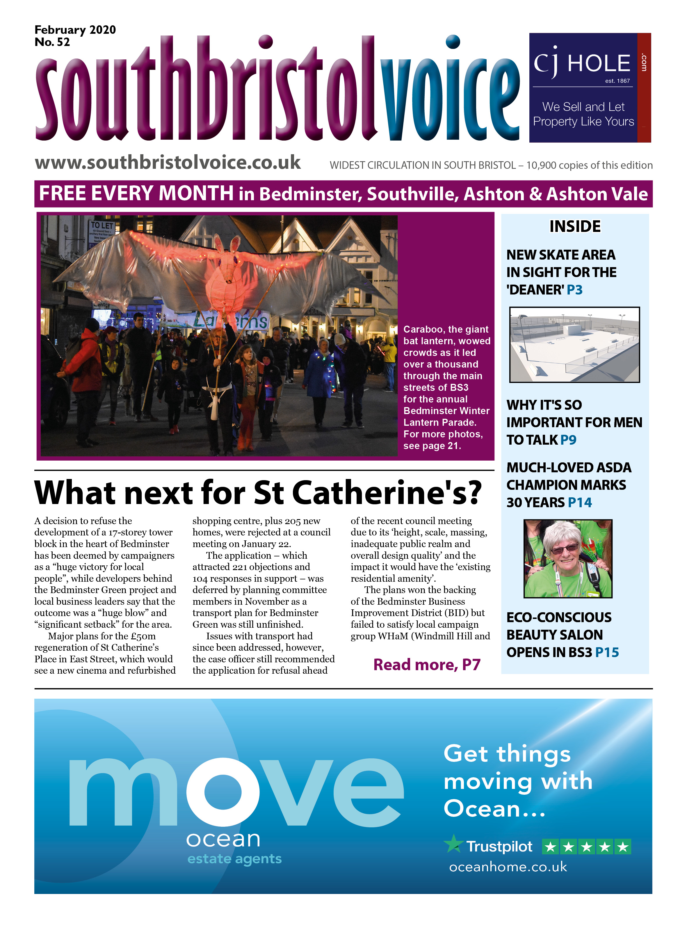 South Bristol Voice Bedminster February 2020