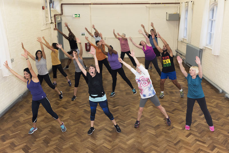 Marie's dance class perform for the BBC