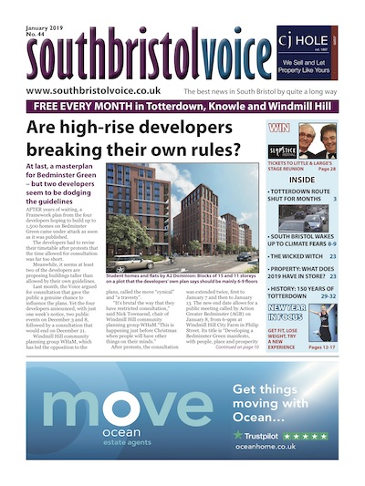 South Bristol Voice cover January 2019