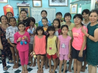 Children back CBBC star who sets up Vietnam charity