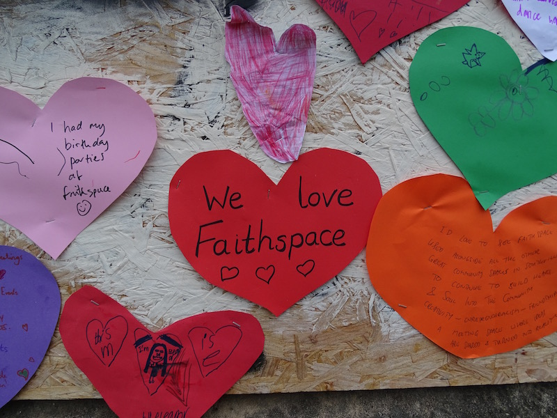 Neighbours ask church to save Faithspace