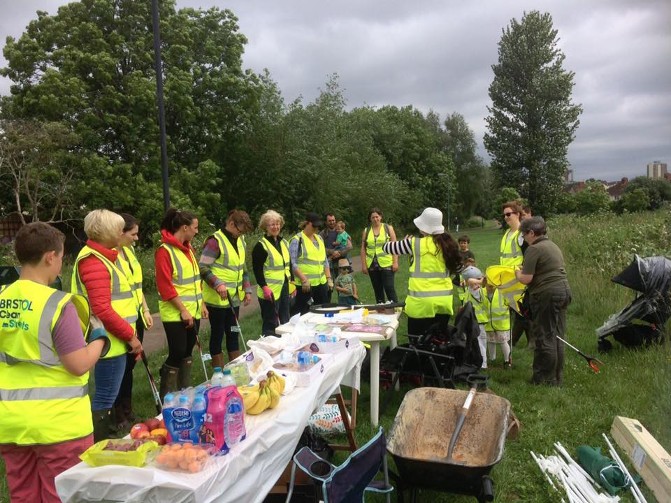 Clean-up is having an impact on Malago green space