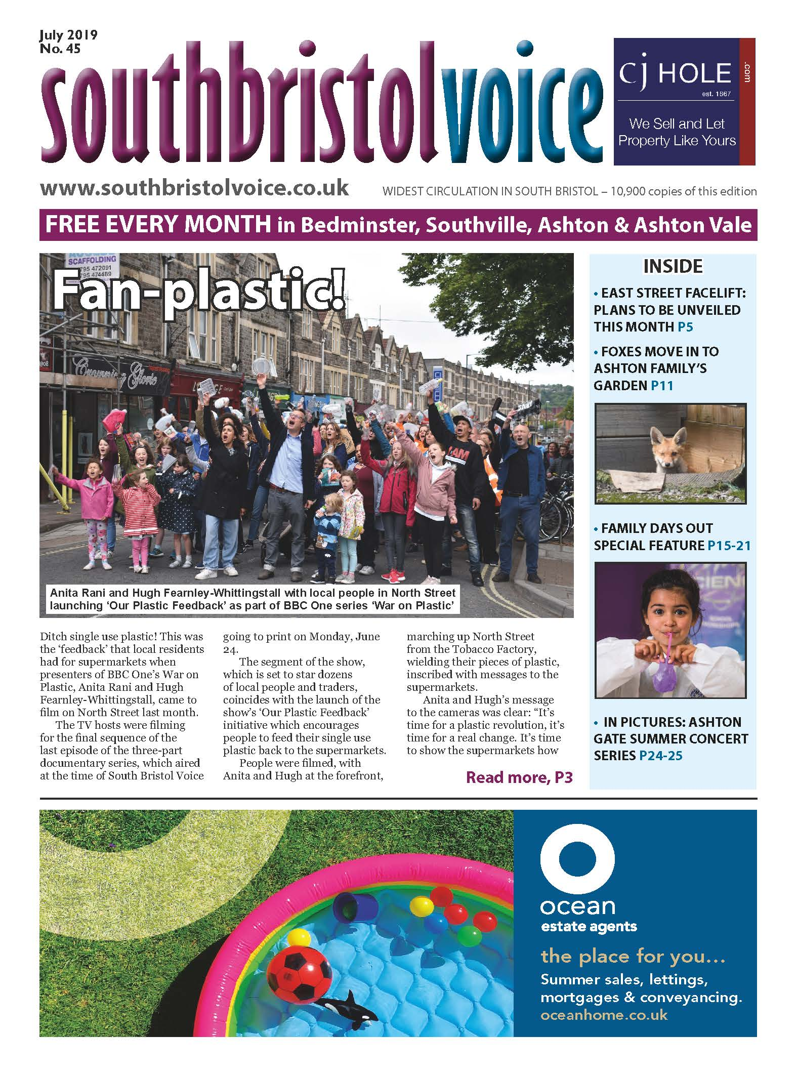 South Bristol Voice Bedminster July 2019