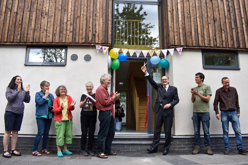 Bedminster's newest 'zero carbon' homes