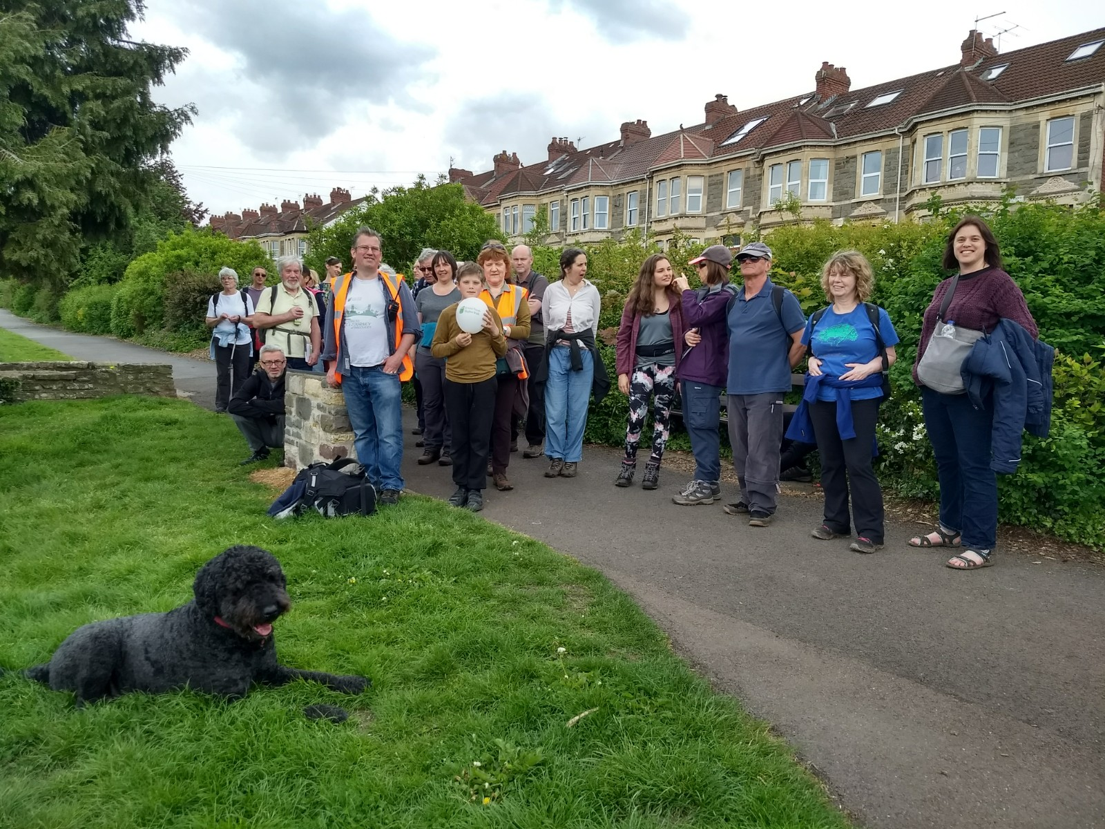Skyline walk across South Bristol attracts visitors from far afield