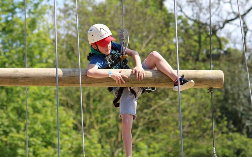 Campfires, climbing, archery and all kinds of fun for South Bristol Scouts