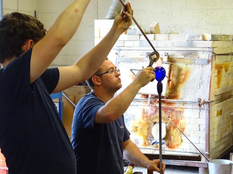Glassmaking at Bristol Blue Glass