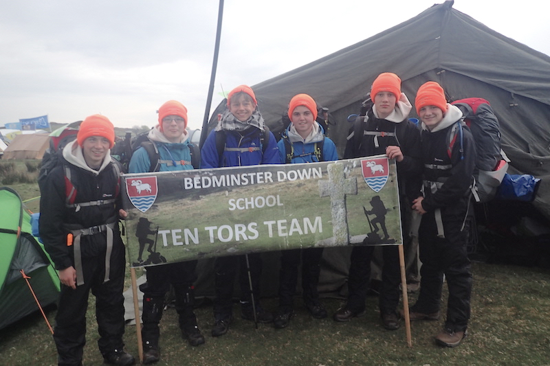 Bedminster Down Ten Tors team group picture