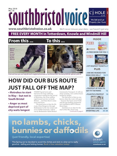 South Bristol Voice cover May 2018