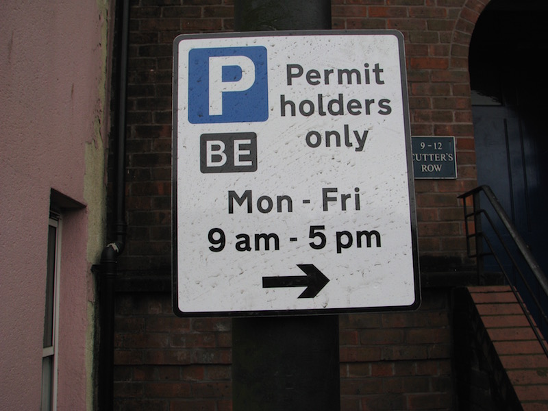 Residents' Parking November 2015