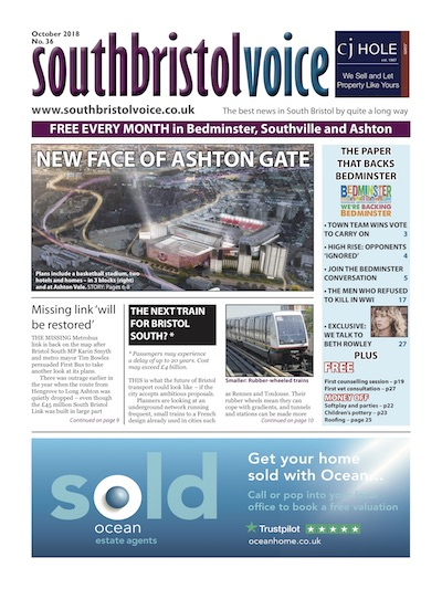 South Bristol Voice cover October 2018 Bedminster