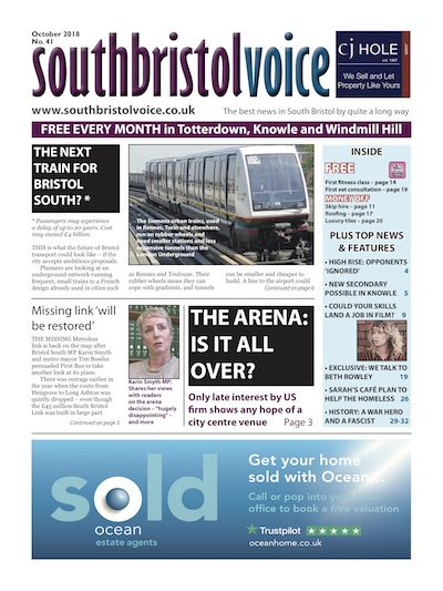 South Bristol Voice cover October 2018