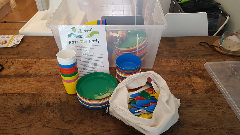 Reducing waste, one children's party at a time
